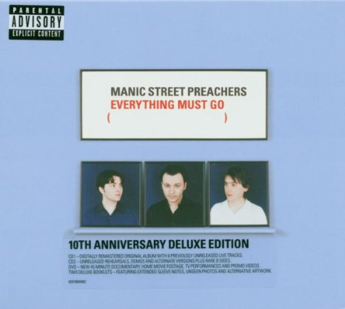Manic Street Preachers - Everything Must Go: 10th Anniversary Deluxe Edition/+DVD - Zortam Music