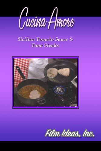 Cucina Amore: Sicilian Tomato Sauce & Tuna Steaks