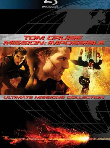 Mission Impossible - Ultimate Missions Collection (Mission Impossible / Mission Impossible II / Mission Impossible III) [Blu-ray]