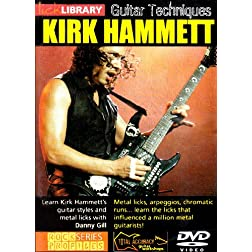 Learn Guitar Techniques: Metal(Kirk Hammett Style)