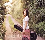 [画像]I remember you (初回限定盤)(DVD付) |YUI for 雨音 薫