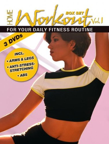 Home Workout Vol. 1 for your daily fitness routine(3 DVD's) Box Set