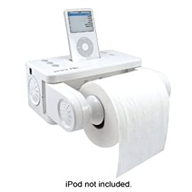 Toilet Tunes Icarta Ipod Dock Review Methodshop - Icarta-ipod-dock-and-toilet-roll-dispenser