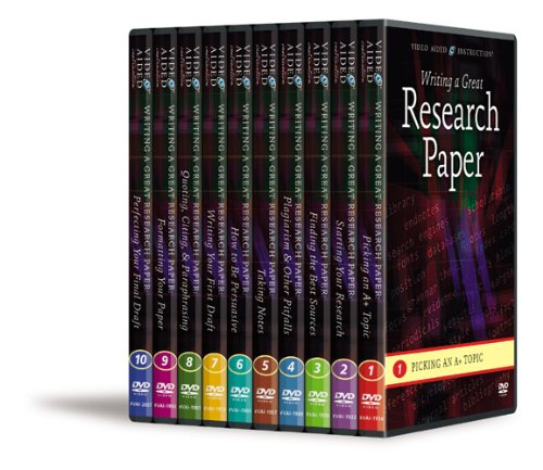 Complete Writing a Great Research Paper Series