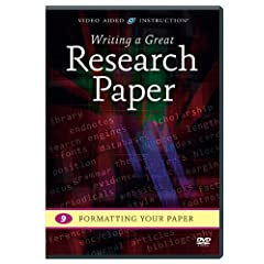 Writing a Great Research Paper: Formatting Your Paper