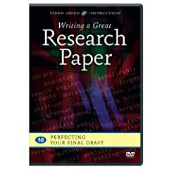 Writing a Great Research Paper: Perfecting Your Final Draft