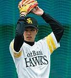 卓上 和田 毅(ソフトバンクホークス) 2007年 カレンダー