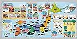 おふろで旅する日本地図