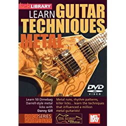 Learn Guitar Techniques: Metal  Dimebag Darrell Style