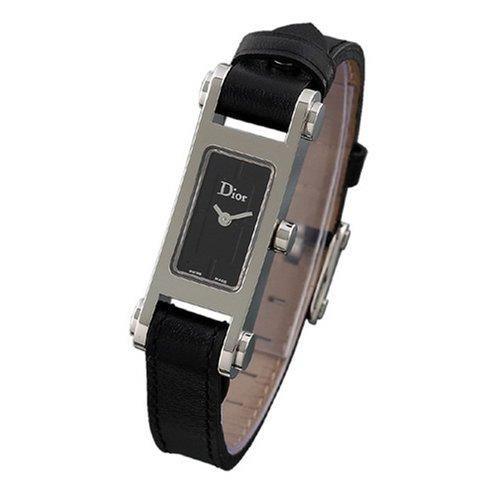 ディオール 腕時計 ブラック レディース