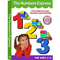 The Preschool Learning Series: Numbers Express