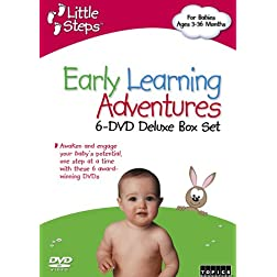 Little Steps, Vol. 1: Early Learning Adventures