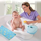 Baby Bath Center with Handheld Shower