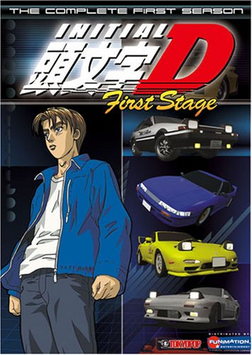 Initial D First Stage - The Complete First Season