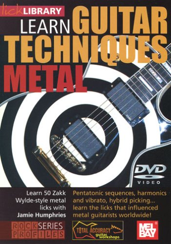 Learn Guitar Techniques: Metal (Zakk Wylde-style)
