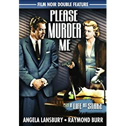 Film Noir Double Feature: Please Murder Me (1956) / A Life At Stake (1954)
