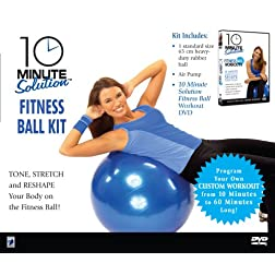 10 Minute Solution Fitness Ball Kit