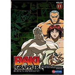 Baki the Grappler, Vol. 11 - Buren's Experiment