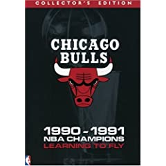 Chicago Bulls 1991 NBA Champions - Learning to Fly