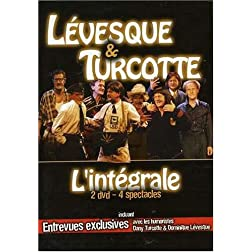Levesque & Turcotte - L'Integrale (2 dvd - 4 spectacles)