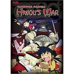 Clockwork Fighters: Hiwou's War, Vol. 2