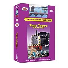 Thomas and Friends - Trust Thomas (Wooden Train Bonus Pack)