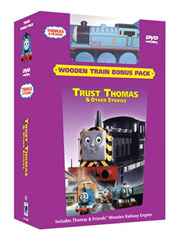 Thomas and Friends - Trust Thomas (Wooden Train Bonus Pack)