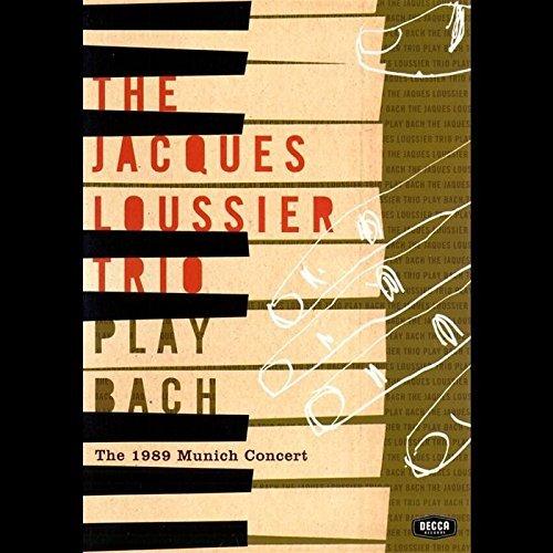 Loussier Trio Play Bach: 1989 Munich Concert