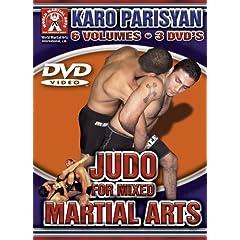 Karo Parisyan Judo for Mixed Martial Arts 3 Disc DVD 6 Volumes on 3 Dvds World Martial Arts International Groundfighter