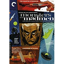Monsters And Madmen (The Haunted Strangler / Corridors of Blood / The Atomic Submarine / First Man into Space) - Criterion Collection