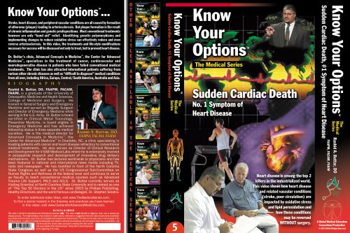 Know Your Options: Sudden Cardiac Death, #1 Symptom of Heart Disease