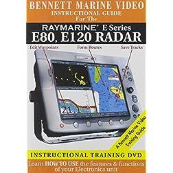 Raymarine E Series: E80, E120 Radar