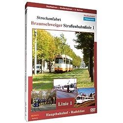 Streckenfahrt - Braunschweiger Straßenbahnlinie 1