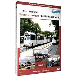 Streckenfahrt - Braunschweiger Strassenbahnlinie 4