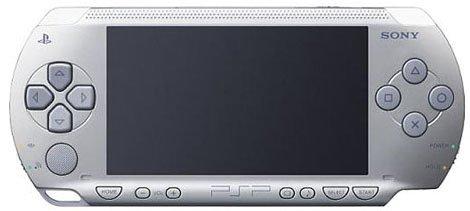 PSP「プレイステーション・ポータブル」 シルバー