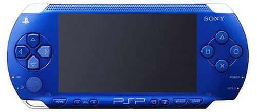 PSP「プレイステーション・ポータブル」 メタリックブルー