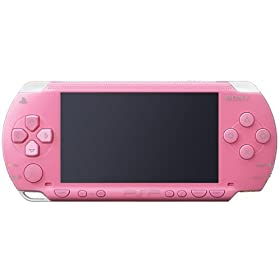 PlayStation Portable ピンク