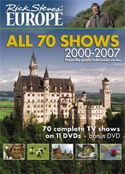 Rick Steves' Europe, 2000-2007: All 70 Shows