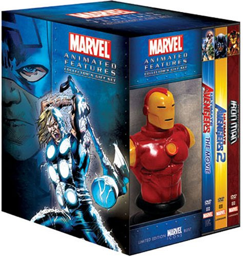 Marvel Animated Features Gift Set