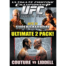 Ultimate Fighting Championships: Vol. 51 - Super Saturday/Vol. 52 - Randy Couture vs Chuck Liddell
