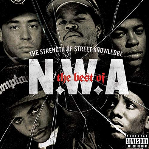 NWA: The best of N.W.A - The Strength Of Street Knowledge by N.W.A album cover