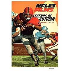 NFL Film Classics - Legends of Autumn, Vols. 1-3