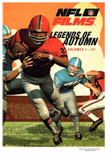 NFL Film Classics - Legends of Autumn, Vols. 1-3