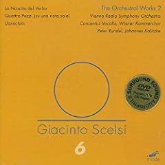 Giacinto Scelsi: The Orchestral Works 2 [DVD Audio]