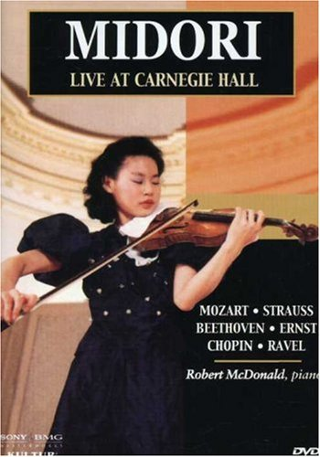 Midori - Live at Carnegie Hall / Robert McDonald