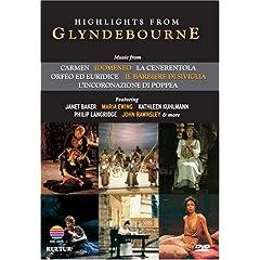 Highlights From Glyndebourne / Maria Ewing, Janet Baker, Philip Langridge, John Rawnsley