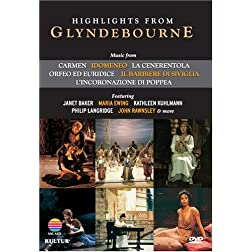 Highlights From Glyndebourne / Maria Ewing, Janet Baker, Philip Langridge, John Rawnsley