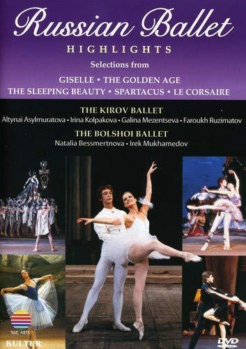 Russian Ballet Highlights / Bolshoi, Kirov, Mukhamedov, Besmertnova, Mezentseva