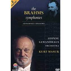 The Brahms Symphonies / Leipzig Gewandhaus Orchestra, Kurt Masur