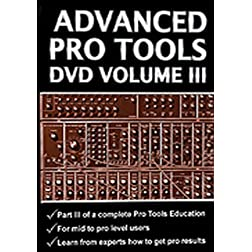 Advanced Pro Tools 3 (Dvdr)